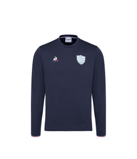 RACING 92 Training Crew Sweat Dress Blue 17-18