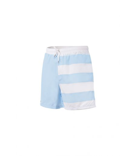 Short de bain Kid Sky Blue White