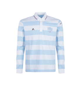 RACING 92 Polo Légende blue/optical 17-18