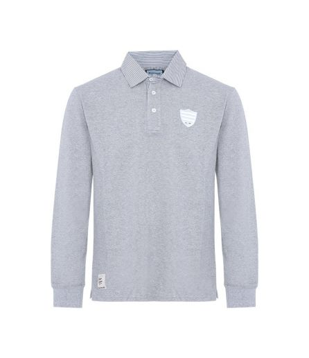 Polo ML CHRIS Maille Piquée Gris