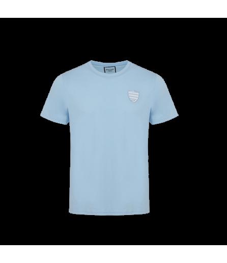 T-Shirt MC BALLON - équipe dans le dos Ciel