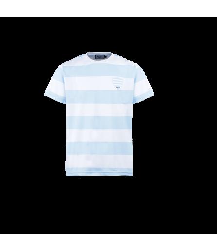 T-Shirt Subli Poly Maout Ciel