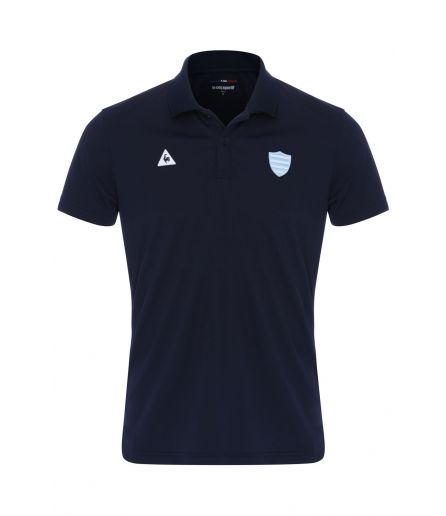 RACING 92 Tenue Presentation Polo MC Poly Eclipse