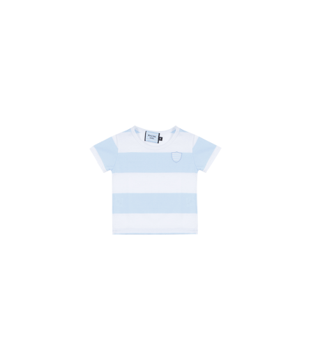 T-Shirt MC BB Tee Ciel et Blanc