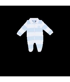 Body BB ML Ciel et Blanc