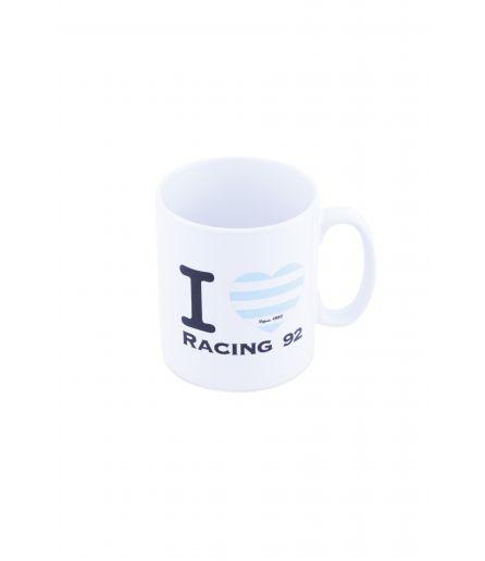 Mug I love Racing 92