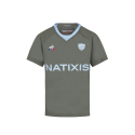RACING 92 Maillot Replica Kid four 17-18