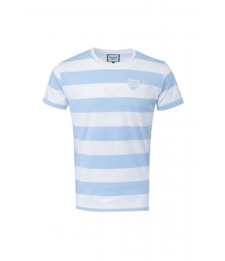 T-shirt  Referee Racing 92 Sky Blue White MC..