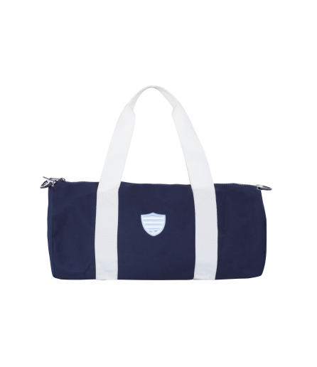 Sac polochon BILLY toile marine logo Racing92