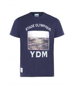 T-Shirt kid MC Jersey Stade  YDM  Marine