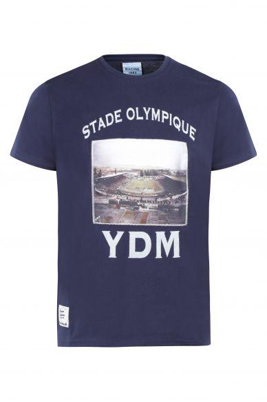 T-Shirt MC Jersey Stade YDM Marine ...