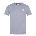 Tee shirt ballon homme gris Racing 92