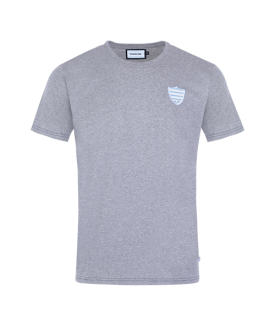 T-Shirt MC Ballon Racing 92 dos Gris Aevi