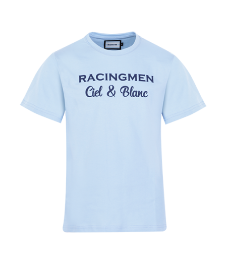 T-Shirt MC RACINGMEN Ciel