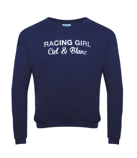 T-Shirt ML Jersey Marine RACING-GIRL