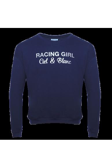 T-Shirt ML Jersey Marine RACING-GIRL