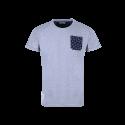 T-Shirt MC Homme Poche Gris Racing 92