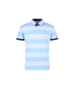 James Racing 1882 Polo MC Sky Blue White