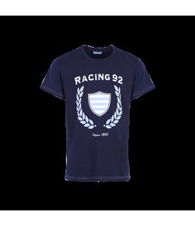 T-Shirt MC Marine Logo Racing Dambi