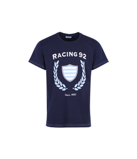 T-Shirt MC Marine Logo Racing Dambi