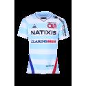 Maillot Pro Homme Ciel et Blanc 18-19 Racing 92 x Le Coq Sportif