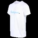 T-Shirt MC Homme bouclette Blanc Racing 92