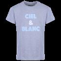 T-Shirt MC Homme bouclette Gris Racing 92