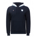 Sweat 3 capuches Homme marine 18-19 Racing 92 x Le Coq Sportif