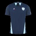 Training T-Shirt manches courtes Homme Bleu Marine 18-19 Racing 92 x Le Coq Sportif