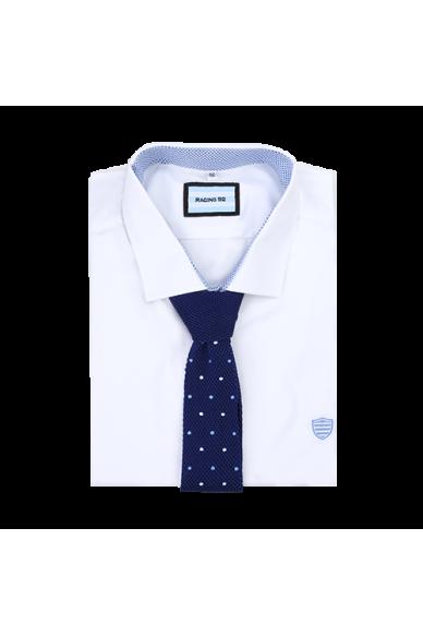 Cravate en Soie tricotée Marine Racing 92