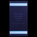 Serviette de bain Racing 92 ciel et blanc