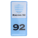 Sticker plaque immatriculation Racing92