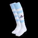 Chaussettes de match ciel et blanche Racing92