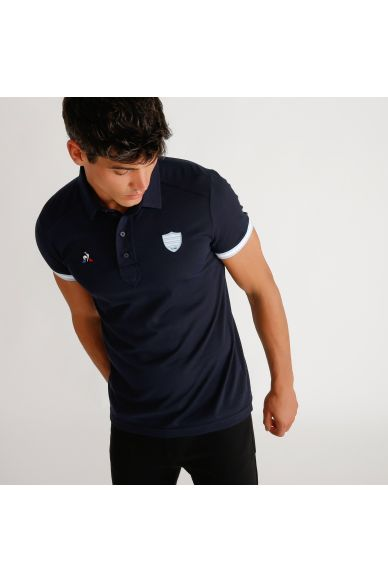 Polo marine homme 19-20 Racing 92 x Le Coq Sportif