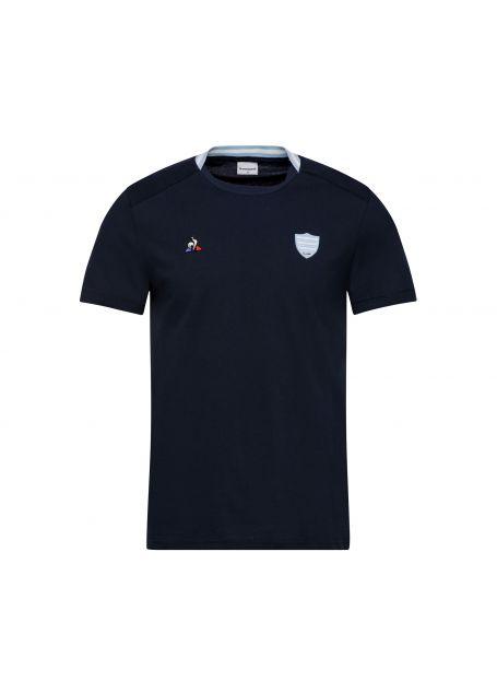 Tshirt marine homme 19-20 Racing 92 x Le Coq Sportif