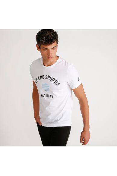 Tshirt blanc homme 19-20 Racing 92 x Le Coq Sportif