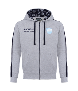 Sweat gris homme Racing 92