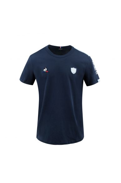 T-Shirt MC homme marine Racing 92 x Le Coq Sportif 20-21