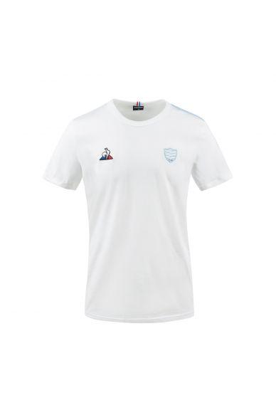 T-Shirt MC homme blanc Racing 92 x Le Coq Sportif 20-21