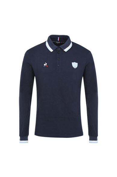 Polo ML homme marine Racing 92 x Le Coq Sportif 20-21