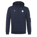 Sweat a capuche homme marine Racing 92 x Le Coq Sportif 20-21