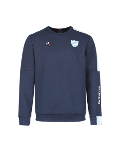 Sweat zipp�e enfant marine Racing 92 x Le Coq Sportif 20-21