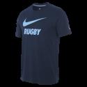 Racing92 Homme Nike Tee-Shirt Swoosh Marine 21-22