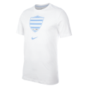 Racing92 Homme Nike Tee-Shirt Blanc 21-22