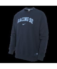 Racing92 Homme Nike Sweat Col Rond Marine 21-22