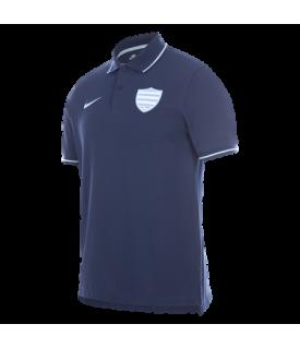 Polo piqué Homme Marine Racing 92 x Nike 21-22