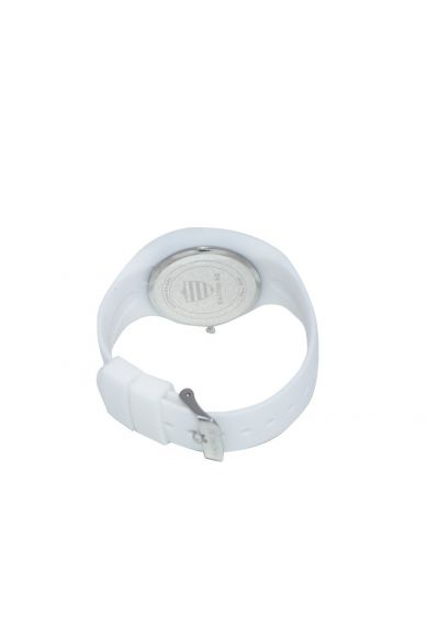 Montres Silicone Supporter Blanche