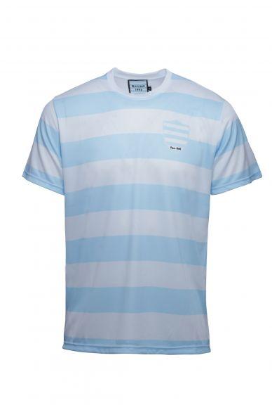 T-Shirt Sublimé Kid Ciel et Blanc