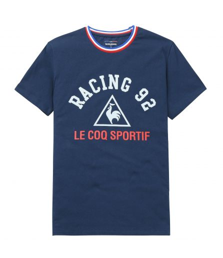 RACING 92 Tenue Logo Tee 2 MC Dress Blue 17-18