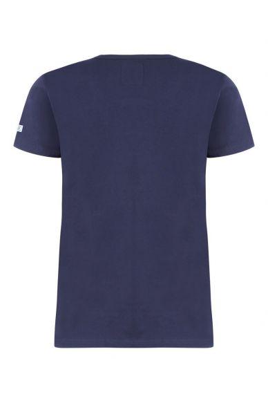 T-Shirt Femme MC Supporter Jersey Marine